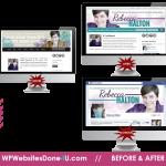 RebeccaHalton.com Before and After