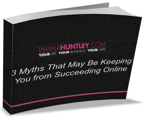 3 Myths Keeping Your from Succeeding Online
