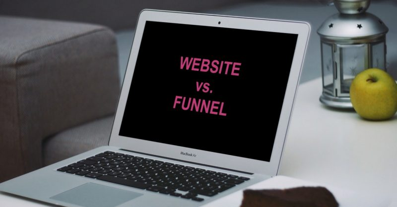 Website vs. Funnel: Do You REALLY Need Both?