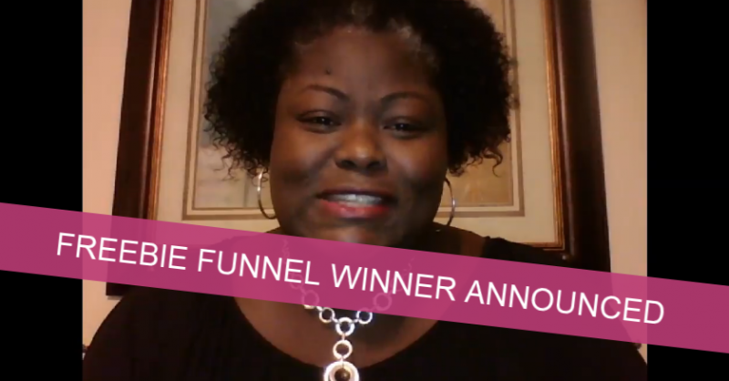 $1700 Freebie Funnel Giveaway Winner Announcement